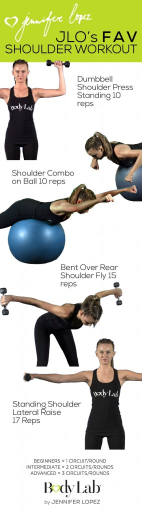 JLos Fav Shoulder Workout