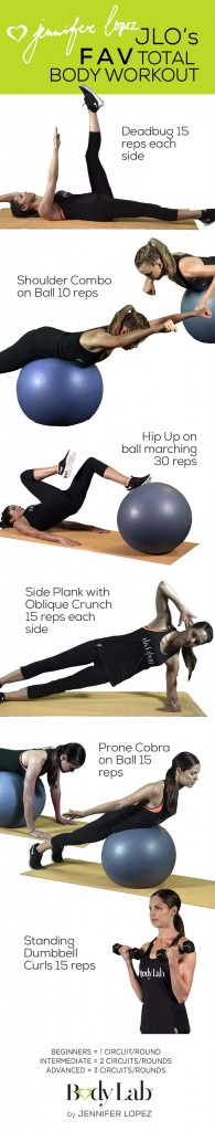 JLo's Fav Total Body Workout