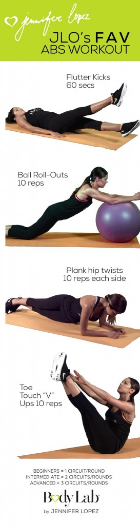jlo fav abs workout